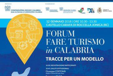 Venerdì appuntamento con il forum 'Fare Turismo in Calabria'