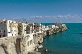 Crescono gli arrivi in Puglia, Vieste al top per turismo balneare
