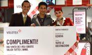 Volotea premia con 15 biglietti il fortunato vincitore della caccia al tesoro di Genova
