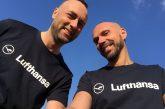 Lufthansa sostiene Viaggio Italia: viaggio in carrozzina di Danilo e Luca