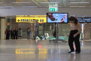 AdR, a Fiumicino spettacolo di danza per i viaggiatori in attesa di partire