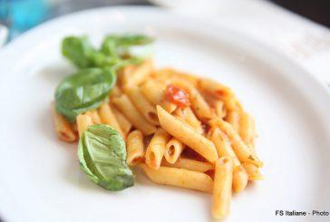 Nuovo menù a bordo del Frecciarossa: torna la pasta espressa