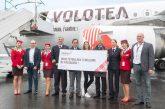 Volotea festeggia 15 mln di pax in Europa con la caccia al tesoro