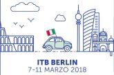 Enit all'Itb di Berlino con 12 regioni: ecco il programma