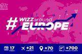 Wizz Air avvia la più grande fase di espansione: 4 nuove destinazioni e una nuova base