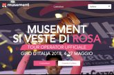 Musement è Official Travel Partner del Giro d'Italia 2018