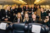 Festa delle donne in volo con British Airways