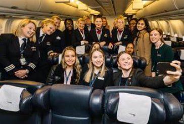 Festa delle donne in volo con British Airways