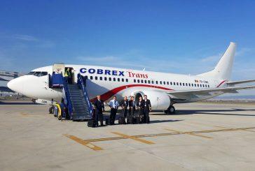 Cobrex Trans apre base a Perugia e lancia 5 nuove rotte