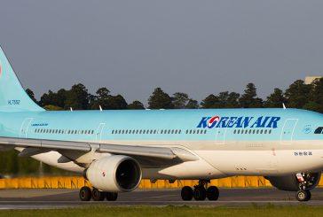 Korean Air taglia voli per il Giappone