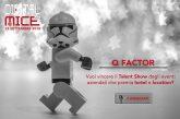 Aperte le candidature per Q Factor, primo talent show sugli eventi aziendali