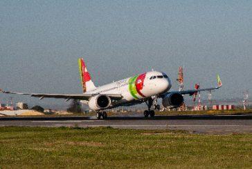 Atterrato a Lisbona il primo A320neo di TAP Air Portugal