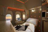 Emirates espone la sua nuova Suite Privata di First Class all'ATM