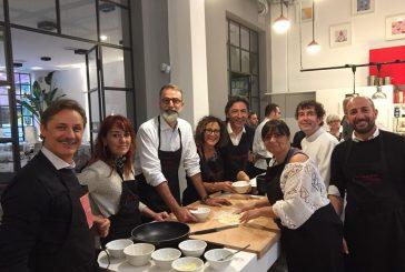 Cooking Challenge tra adv Gattinoni e Baja Hotels sotto l'occhio dello chef Mei