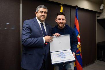 Unwto nomina Messi ambasciatore per il turismo responsabile