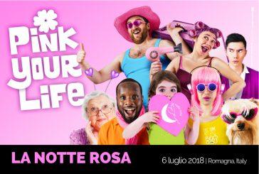 'Pink your life', il nuovo claim della 13^ Notte Rosa