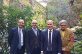 Pesaro, Alghero e Antonio Marras firmano protocollo d'intesa per celebrazioni Rossini 150