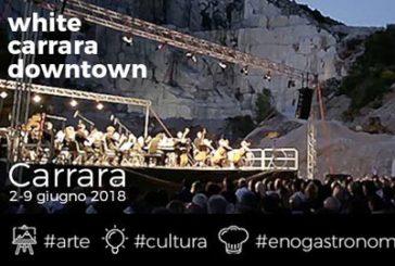 Con 'White Carrara downtown' studi aperti e party in cava