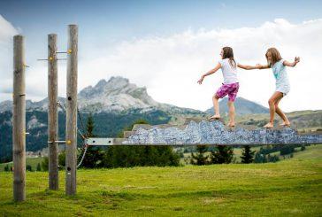 Famiglie in Alta Badia per una estate in 'Movimënt'