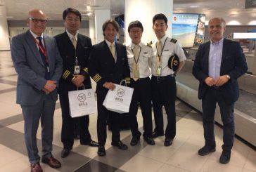 Atterrati a Palermo 200 turisti coreani con il primo volo della Korean Air