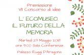 Martedì a Salerno premiazione del concorso di idee 'L'Ecomuseo. Il futuro della memoria'