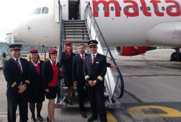 Air Malta apre il volo bisettimanale Catania-Londra Southend