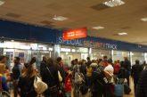 Disagi all'aeroporto di Palermo perla protesta dei vigilanti Ksm