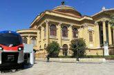 Il nuovo treno regionale Pop arriva a Palermo