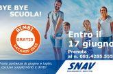 SNAV lancia la promo 'Bye Bye Scuola' e fa viaggiare gratis i bambini
