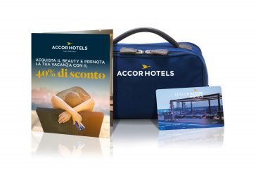 Su Amazon il beauty case di AccorHotels