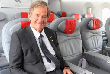Norwegian a maggio crescita dei pax del 17%