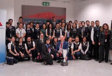 American Airlines, team di Milano vince la Customer Cup