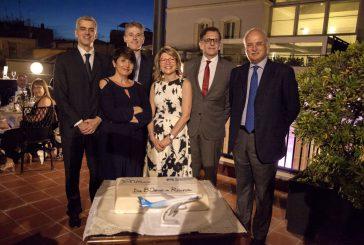 Air Transat cresce a Roma Fiumicino e festeggia 30 anni rotta Roma-Montréal