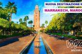 Wizz Air aggiunge Marrakech al suo network