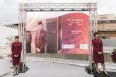 Qatar Airways festeggia 15 anni di servizio dall'aeroporto di Roma Fiumicino