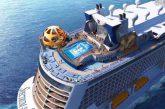 Royal Caribbean, taglio della lamiera per Odyssey of the Seas. Debutterà nel 2020