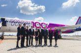Wizz Air, livrea speciale per il record di 100 aeromobili