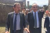 A Pompei la prima visita ufficiale del ministro Bonisoli