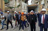 Bonisoli nelle zone colpite dal sisma: nuove assunzioni per i tesori feriti