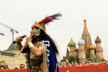 Le tradizioni del Perù affascinano Mosca in occasione dei Mondiali