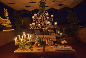 Cena 5 stelle in terrazza al Grand Hotel Majestic per il 'Solstizio dei sensi'