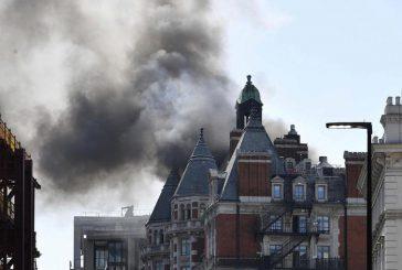 Londra: incendio al Mandarin Hyde Park, nessun ferito