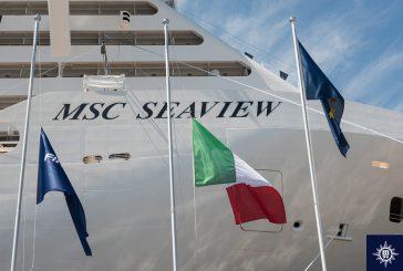 Fincantieri, consegnata Seaview: è la 15esima nave della flotta Msc