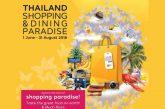 TAT lancia 'Thailand Shopping and Dining Paradise 2018'