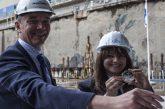 Cerimonia della moneta per Costa Smeralda, prima nave 'globale' a Gnl