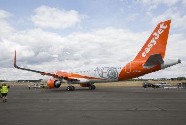 easyJet celebra il suo primo Airbus A321neo: benefici ambientali e sui costi