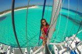 La vita in vacanza di Alyzée Joy Montana: è la media crew & storyteller di Sailsquare