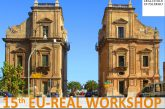 A settembre a Palermo il 15th Workshop EU-REAL: focus sul turismo