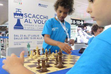 Lezioni di scacchi allo scalo di Fiumicino