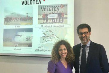 A Catania 8 rotte targate Volotea nell'estate: già 400 mila pax nel 2018